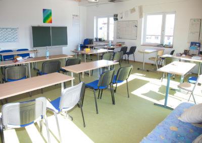 Uranus Gruppe: Klassenraum