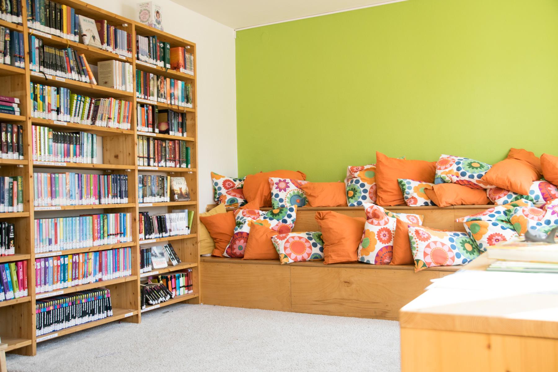 Montessori Schule Idstein Bücherrei