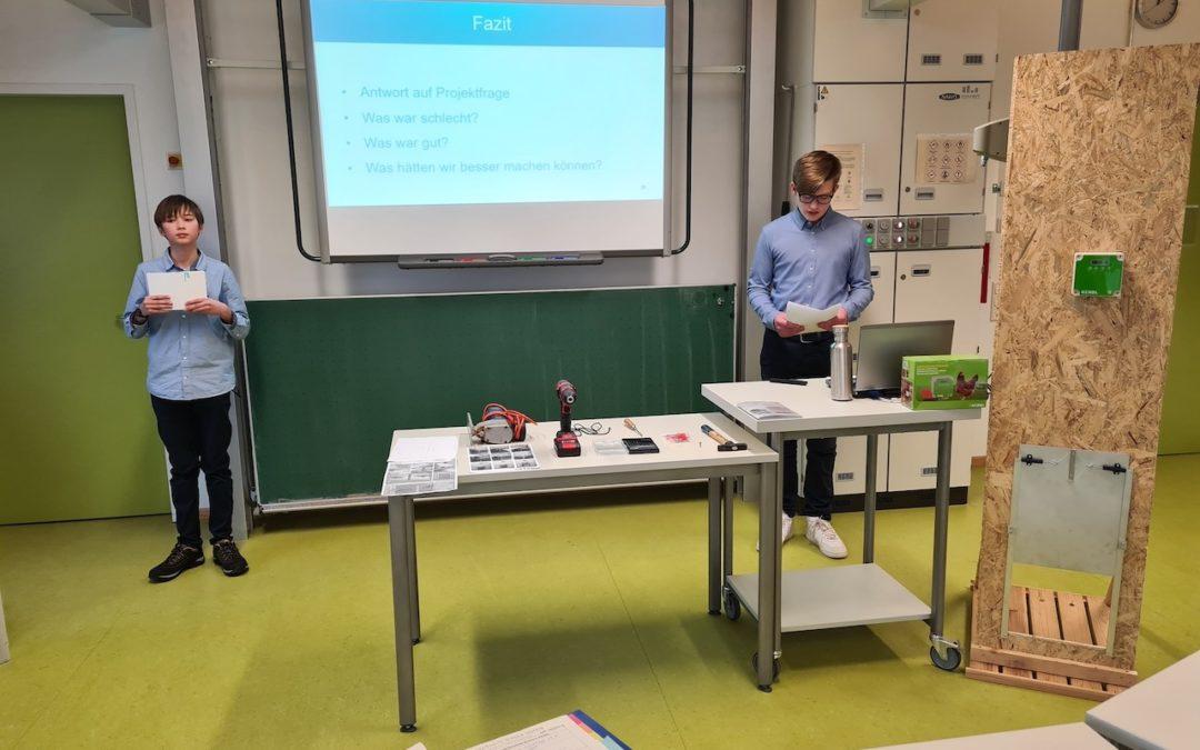 Projektpräsentationen Jahrgangsstufe 9 – Herausforderung angenommen und mit Bravour bestanden!