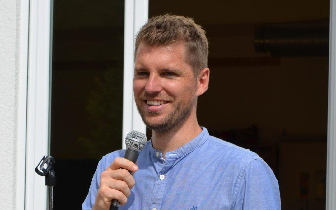 Unser neuer Schulleiter Sebastian Klein stellt sich vor